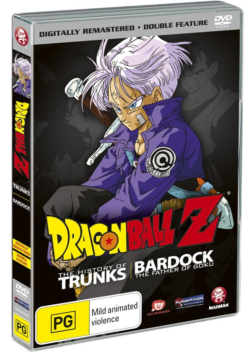 Dragon Ball Z - Double Feature (The History of Trunks / Bardock: The Father of Goku) - DVD