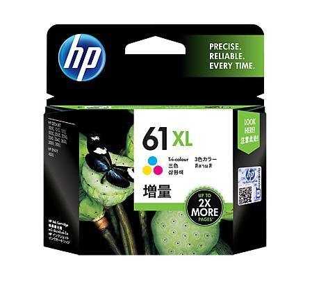 HP 61XL Tri-Colour High Yield Ink Cartridge