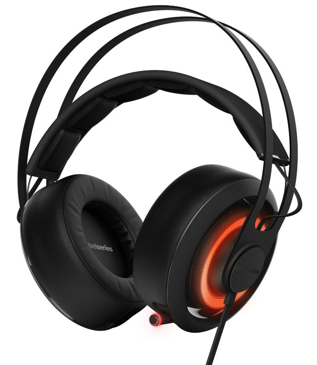 Steelseries Siberia 650 Gaming Headset - Black for PC Games