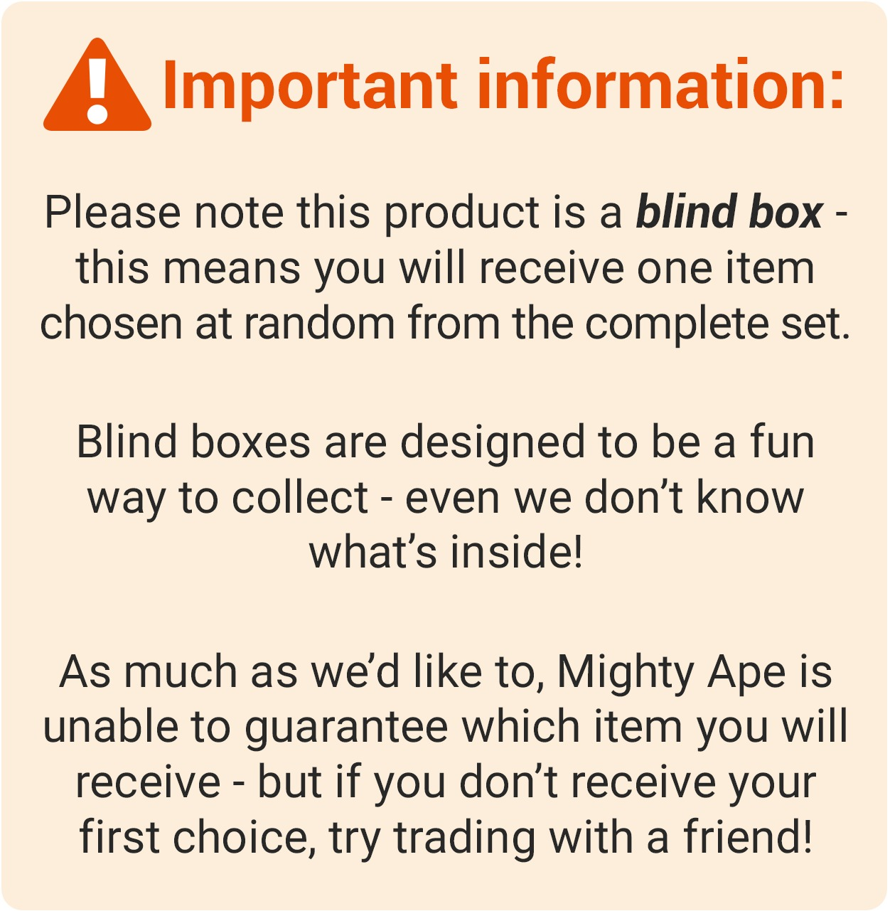 MINI 10-DOH BLINDBOX SERIES 2 NIB One Figure