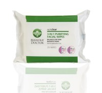 Manuka Doctor ApiClear Purifying Facial Wipes (25 Wipes)