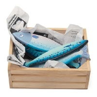 Le Toy Van: Honeybee - Fresh Fish Market Wooden Crate Set