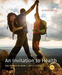 An Invitation to Health, Brief Edition by Dianne Hales image