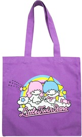 Little Twin Stars Color Tote Bag - Rainbow