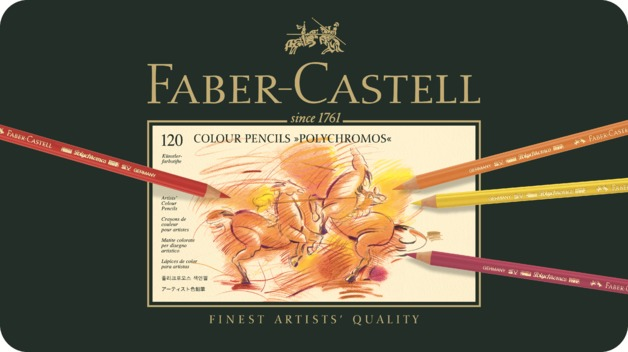 Faber-Castell: Polychromos Pencil (Tin of 120)