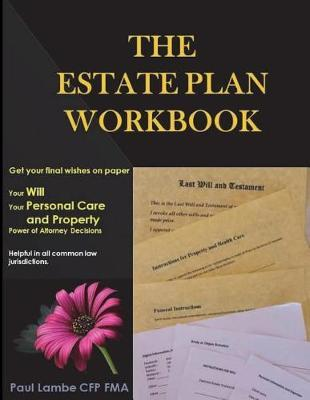 The Estate Plan Workbook by Paul Lambe Cfp Fma image