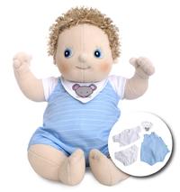 "Rubens Barn: Erik Baby - 17"" Plush Doll"