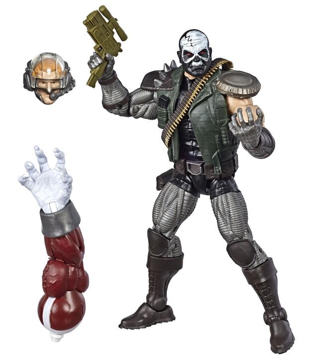 "Marvel Legends: Skull Buster - 6"" Action Figure"