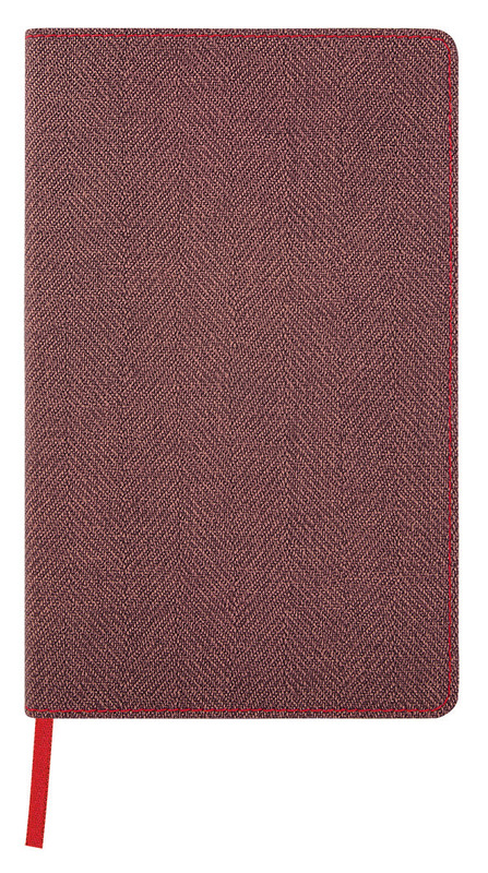Castelli: Harris Maple Red 2020 Diary A5 Weekly with Notes