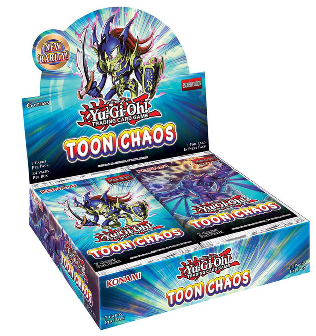 Yu-Gi-Oh! Toon Chaos Booster Box (Unlimited Edition)