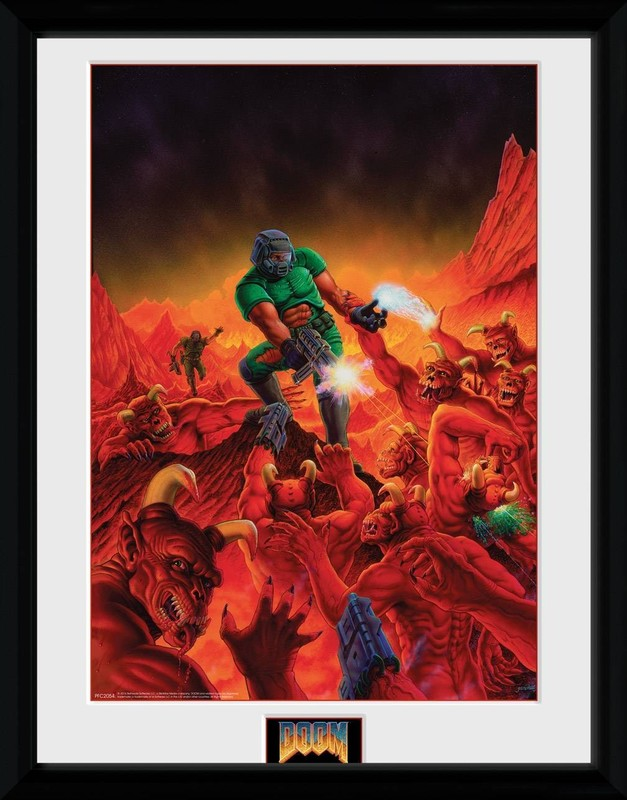 Doom: Classic Key Art - Collector Print (41x30.5cm)