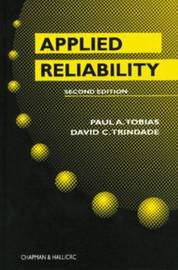 Applied Reliability by Paul A. Tobias image