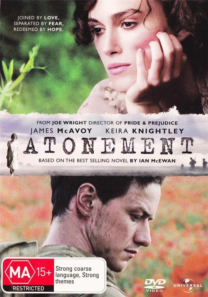 Atonement on DVD image