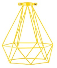 General Eclectic Geometric Lampshade - Yellow image