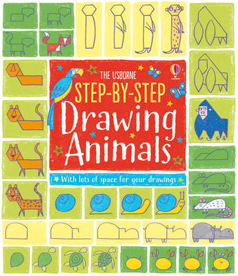 Step-by-Step Drawing Animals by Fiona Watt