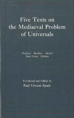 Five Texts on the Mediaeval Problem of Universals image