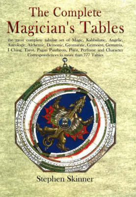 Complete Magician's Tables by Stephen Skinner image