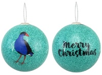 Antics: Christmas Decoration - Green Pukeko image