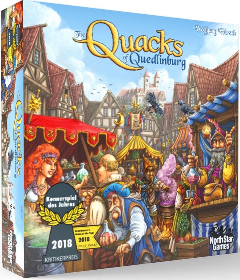 The Quacks of Quedlinburg - Board Game image