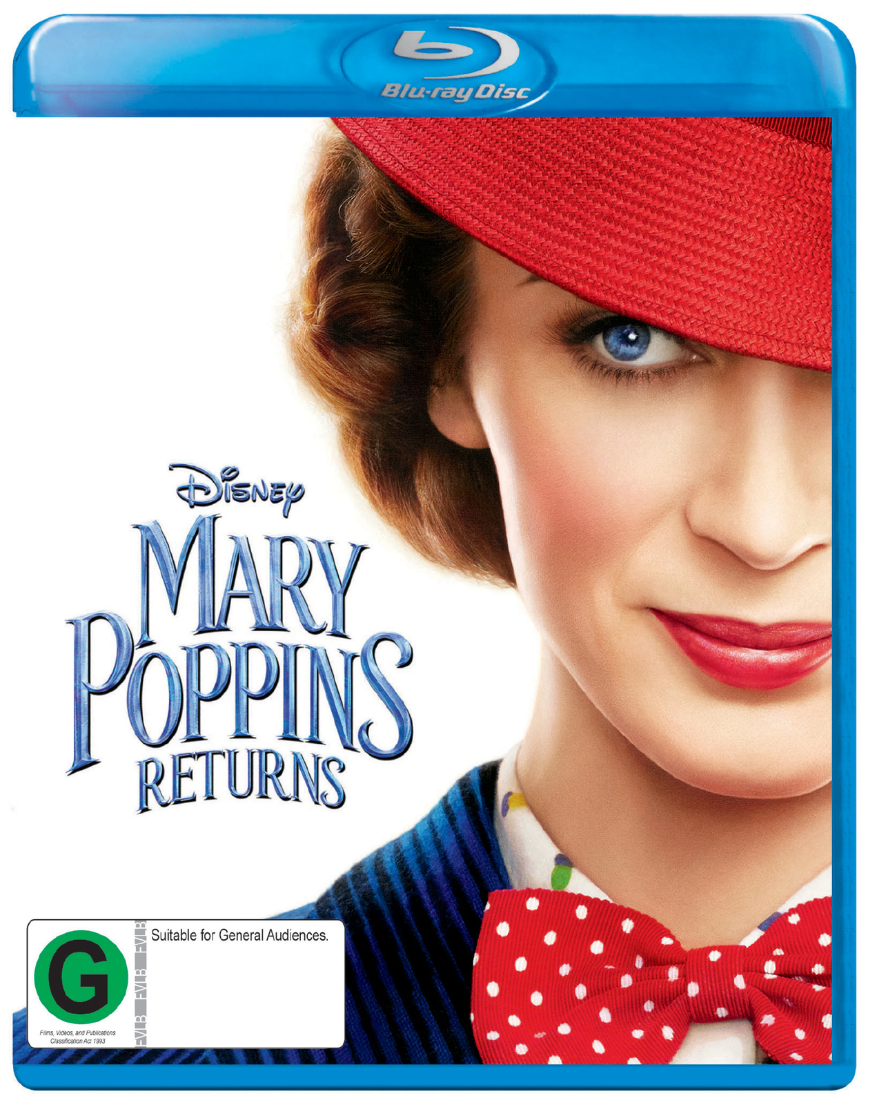 Mary Poppins Returns on Blu-ray image