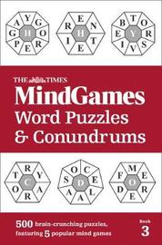 The Times Mind Games Word Puzzles and Conundrums Book 3 by The Times Mind Games
