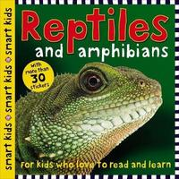 Smart Kids Sticker Reptiles by Roger Priddy