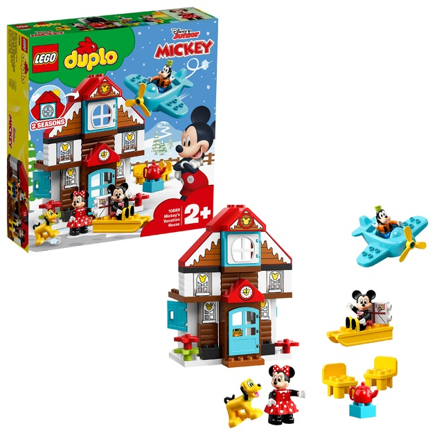 LEGO DUPLO: Mickey's Holiday House - (10889)