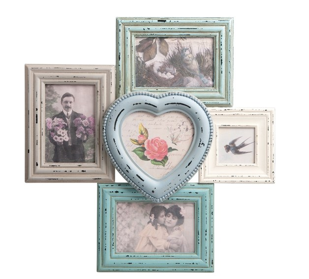Sass & Belle: Delilah Heart - Multi Photo Frame