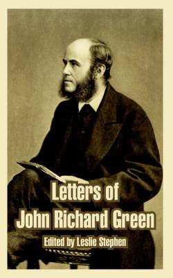 Letters of John Richard Green image
