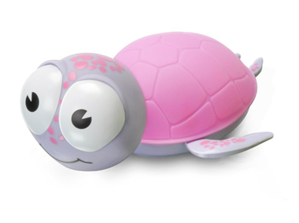 BabyZoo Kids Timer Night Light - Pink Turtle image