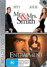 Mr And Mrs Smith / Entrapment (2 Disc Set) on DVD