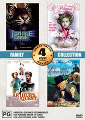 Family Collection Volume One - 4 Movie Box Set (2 Discs) on DVD