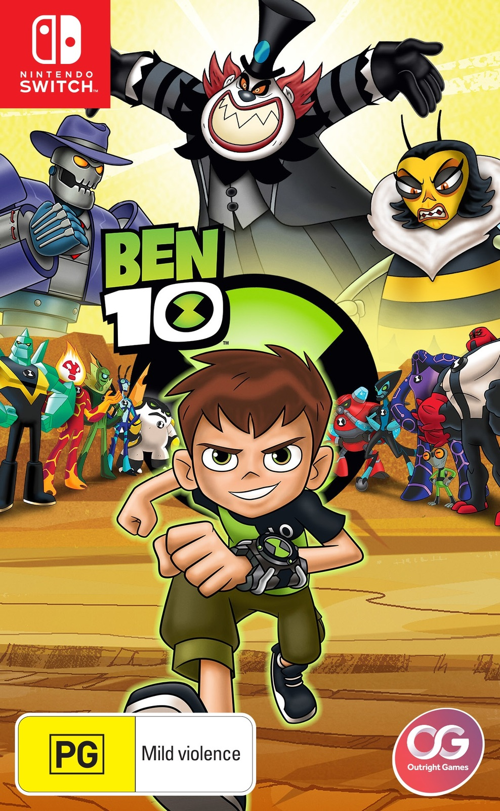 Ben 10 for Nintendo Switch image