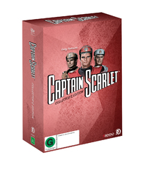 Captain Scarlet Collector's Edition on DVD