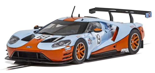 Scalextric: Ford GT #19 (GTE Gulf) - Slot Car