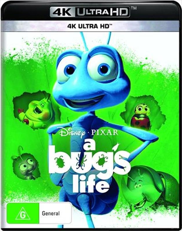 A Bug's Life on UHD Blu-ray