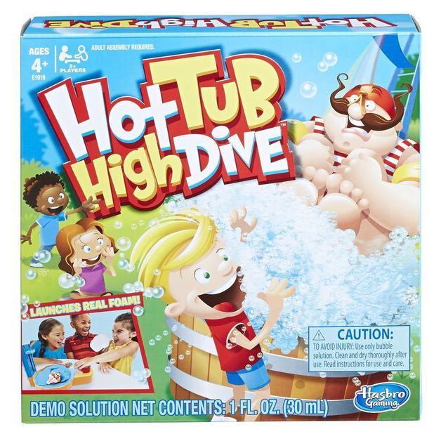 Hot Tub High Dive - Children's Game