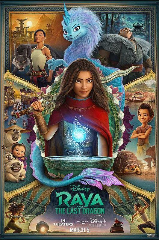 Raya And The Last Dragon on Blu-ray