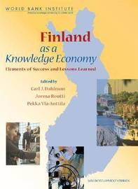 Finland as a Knowledge Economy by J. T. Routti image