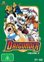 Daigunder - Vol. 3 on DVD