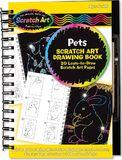 Melissa & Doug: Scratch Art Pets Drawing Book