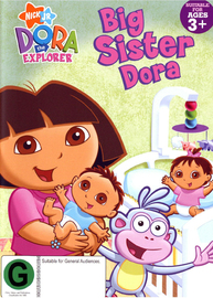 Dora The Explorer - Big Sister Dora on DVD image