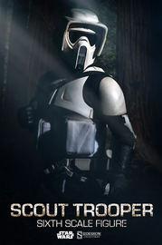 """Star Wars: Scout Trooper 12"""" Figure"""