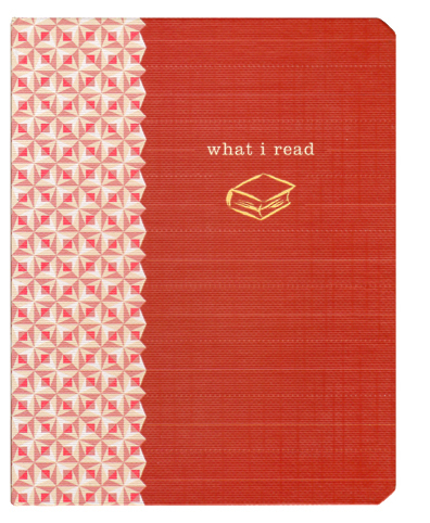 What I Read Mini Journal (Red, Pocket) by Potter Style