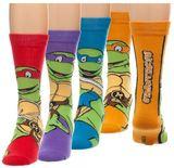 Teenage Mutant Ninja Turtles Character Crew Socks (4 Pack)