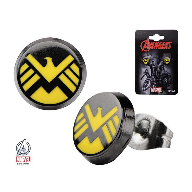 Marvel: S.H.I.E.L.D Logo Stud Earrings