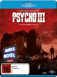 Psycho III on Blu-ray