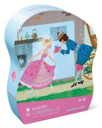 Crocodile Creek: Cinderella Jr. Puzzle - 72pc