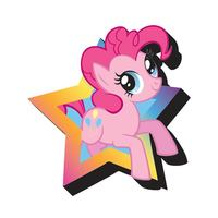 My Little Pony Pinky Pie Funky Chunky Magnet