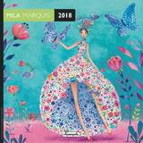Mila Marquis 2018 Wall Calendar